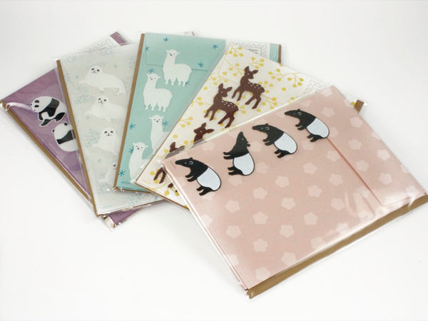 Midori Letter Set with Stickers