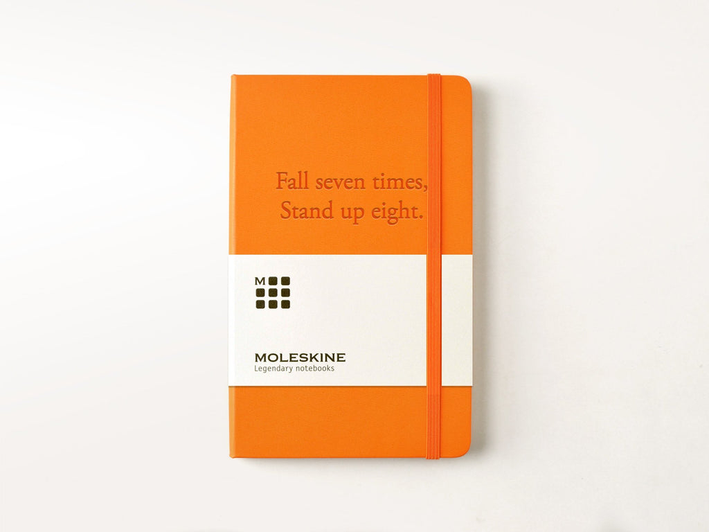 Moleskine Classic Hardcover Notebook - True Orange-Notebooks-Moleskine-Jenni Bick Custom Journals