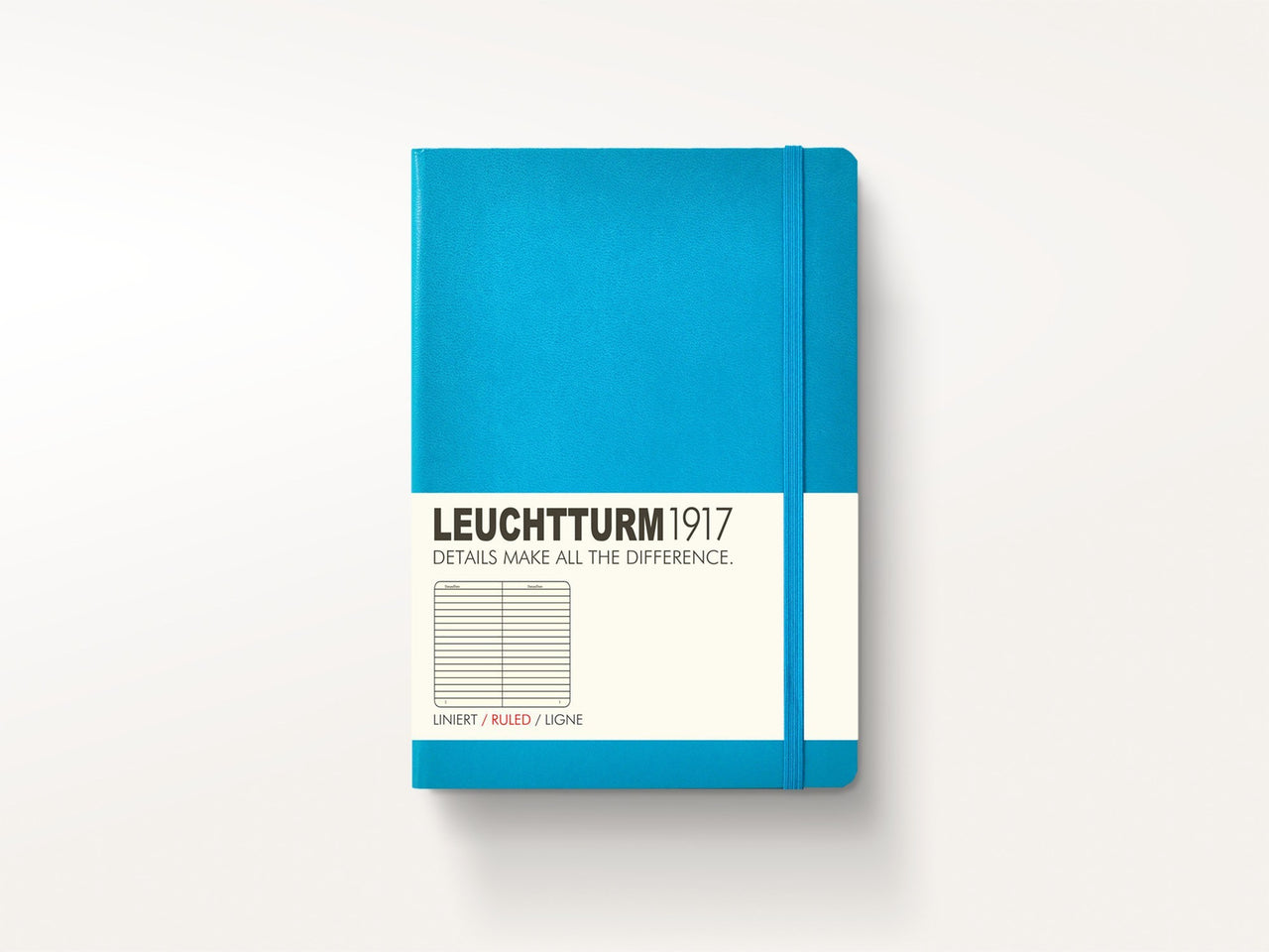 Notebooks - Leuchtturm 1917 Hardcover Notebook Azure - Leuchtturm 1917 - 1