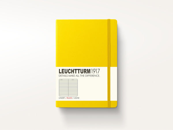 Notebooks - Leuchtturm 1917 Hardcover Notebook Lemon - Leuchtturm 1917 - 1