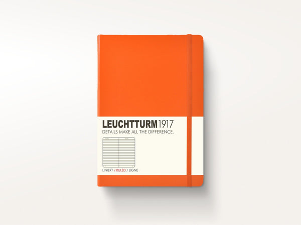 Notebooks - Leuchtturm 1917 Hardcover Notebook Orange - Leuchtturm 1917 - 1