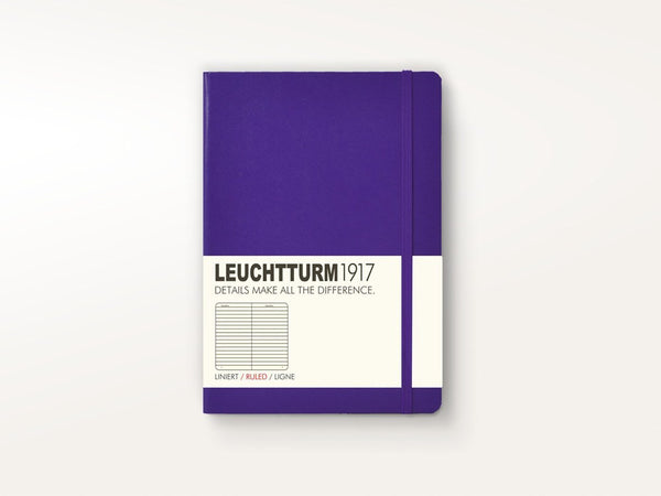 Notebooks - Leuchtturm 1917 Hardcover Notebook Purple - Leuchtturm 1917 - 1