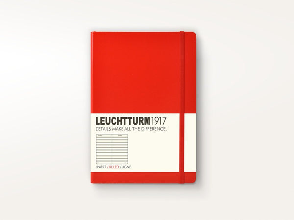 Notebooks - Leuchtturm 1917 Hardcover Notebook Red - Leuchtturm 1917 - 1