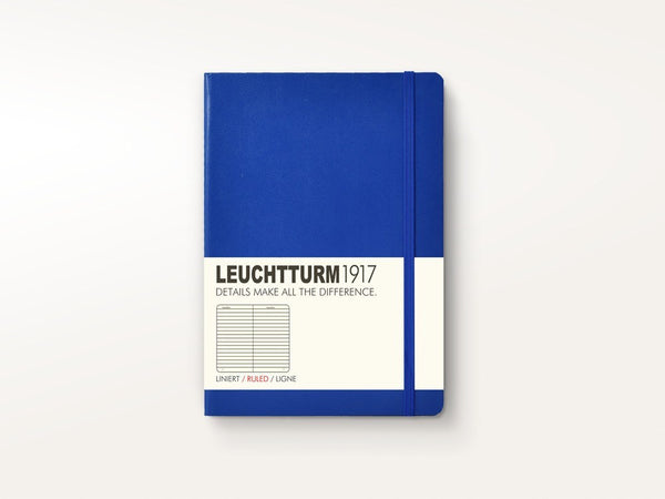 Notebooks - Leuchtturm 1917 Hardcover Notebook Royal Blue - Leuchtturm 1917 - 1