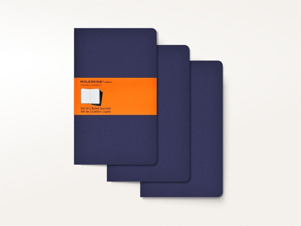 Notebooks - Moleskine Cahier Journals - Navy - Moleskine - 1