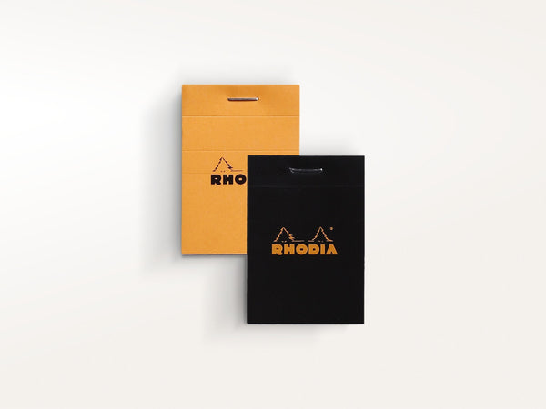 Notebooks - Rhodia Classic Notepad 3.3 x 4.75 / Set of 5 - Rhodia - 1