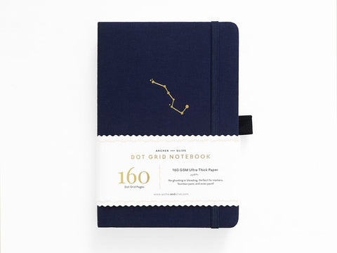 Archer & Olive Dot Grid Journal - Night Sky