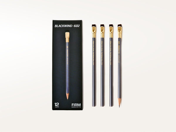 Pens & Pencils - Palomino Blackwing 602 Pencils Set of 12 - Blackwing - 1