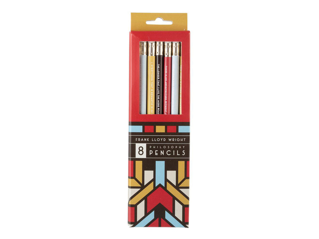 Frank Lloyd Wright Pencils with Quotes