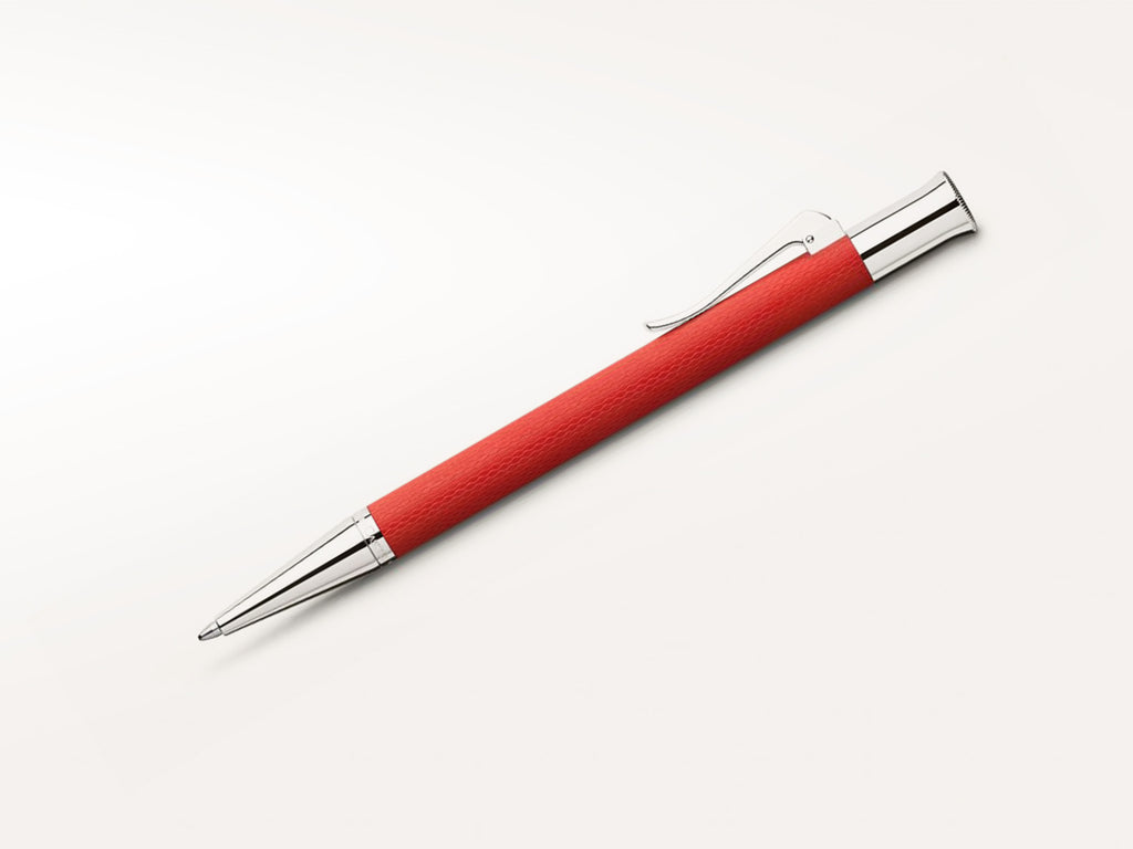 Graf von Faber Castell Guilloche Ballpoint Pen India Red