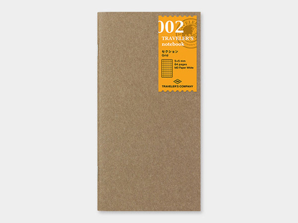 002 Grid Refill TRAVELER'S Notebook - Regular Size