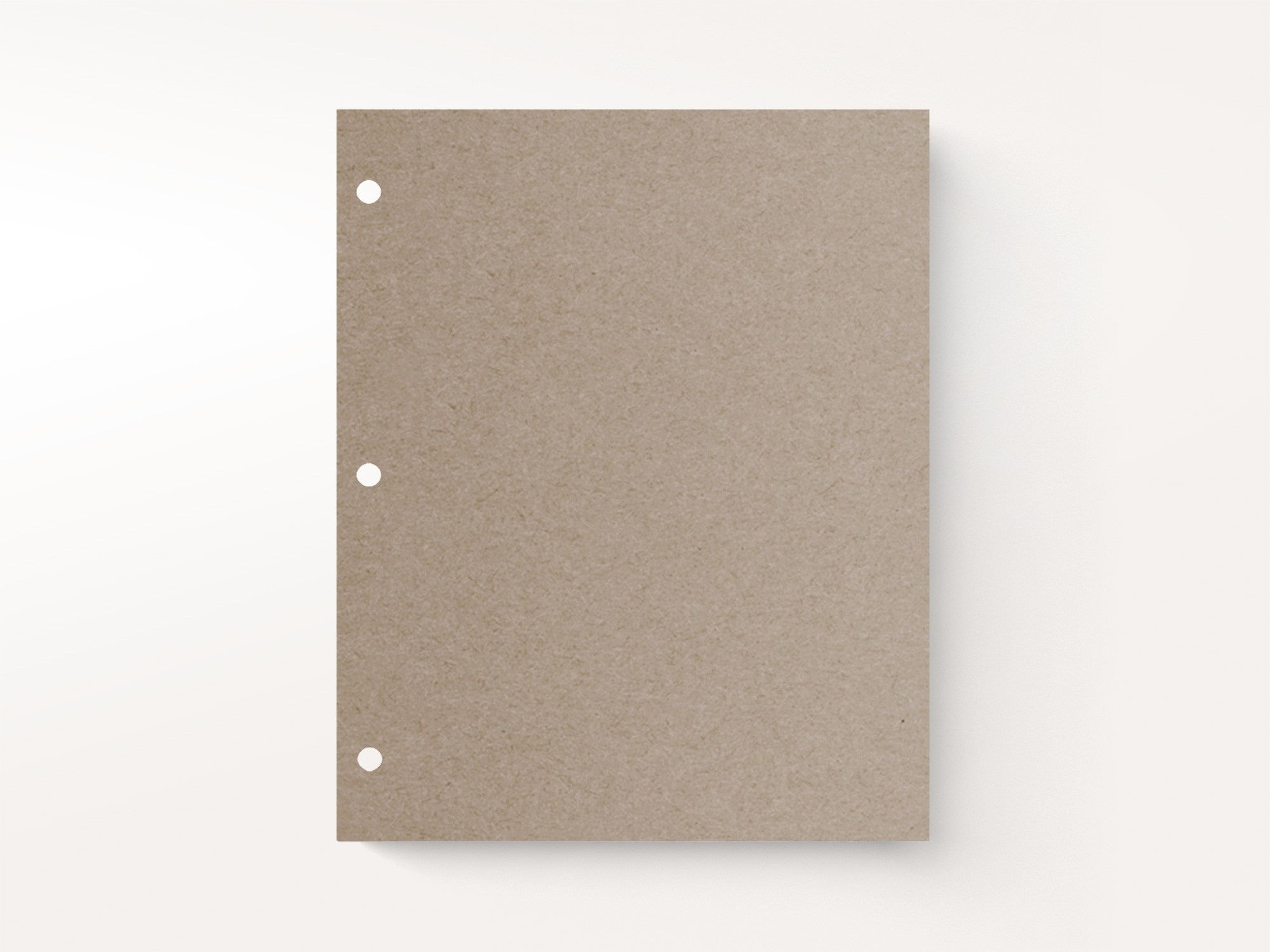 Mix And Match Refill Kraft Cardstock Pages Pack Of 10 Jenni Bick Dc