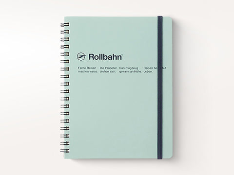 Rollbahn Spiral Notebook Light Blue