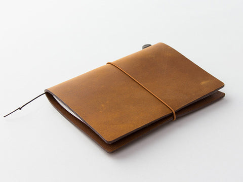 TRAVELER'S Notebook Passport Size - Camel