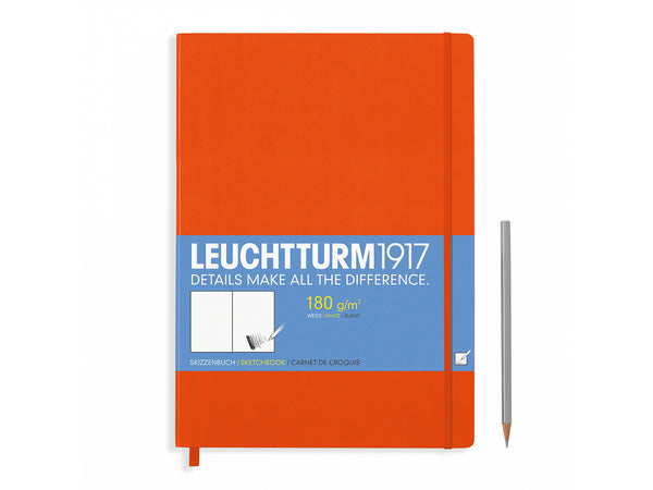 Leuchtturm Sketchbook Orange