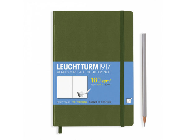 Leuchtturm Sketchbook Army
