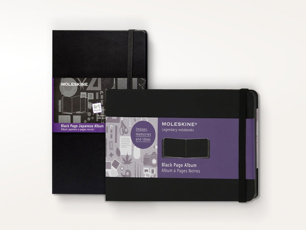 Sketchbooks - Moleskine Black Page Album - Moleskine - 1