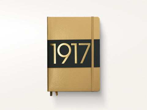 Special Edition Leuchtturm 1917 Hardcover Notebook Metallic Gold