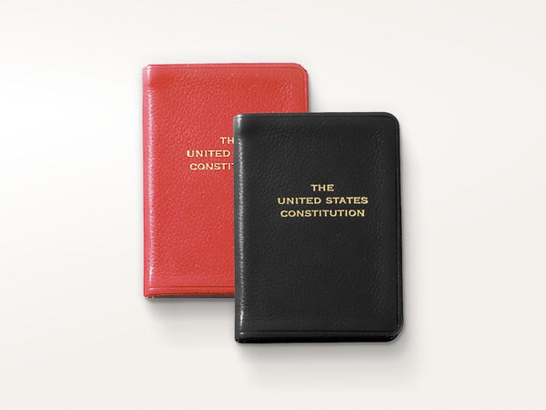 Specialty - Leather Bound United States Constitution - Graphic Image New York - 1