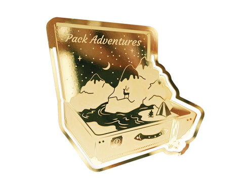 Adventures Bookmark
