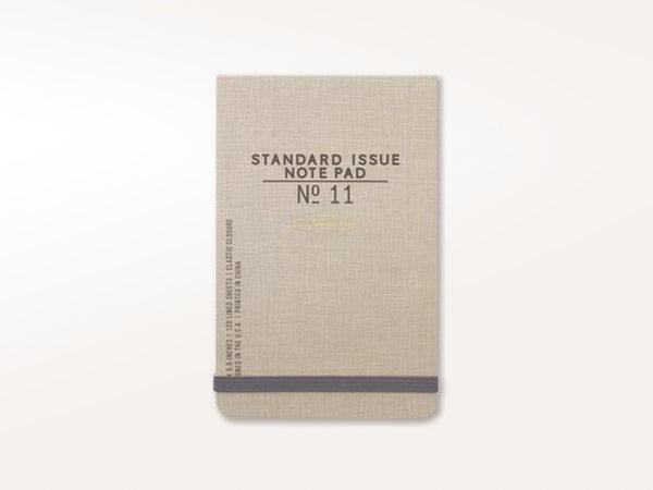 Standard Issue No 11 Note Pad
