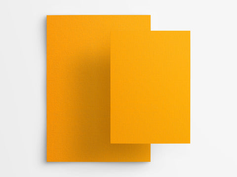 Semikolon Filigrane Paper Notebook - Sun Yellow