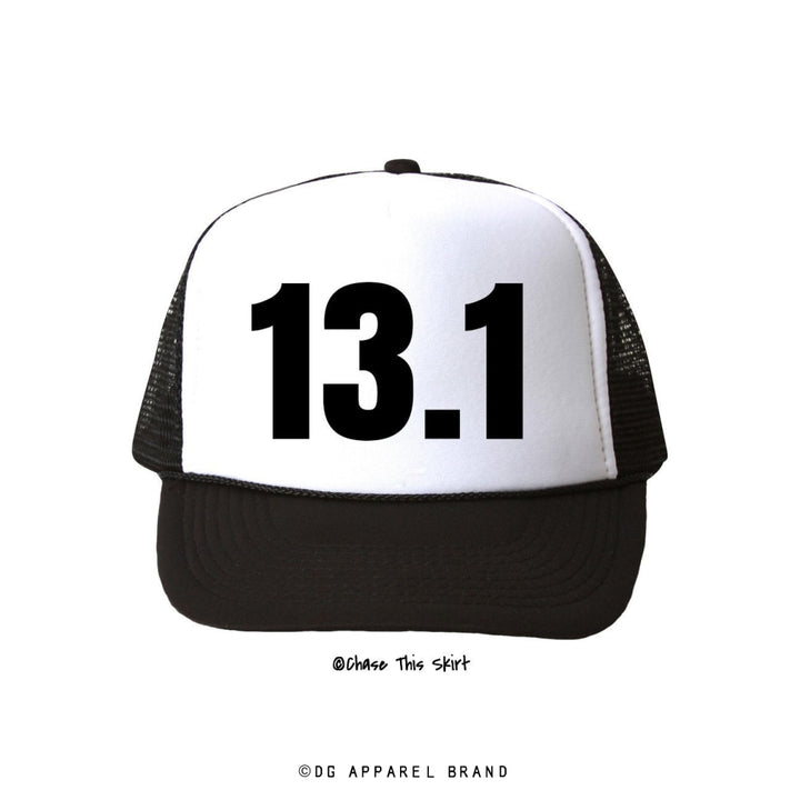 Distance 13.1 Trucker Hat -  Trucker Hat | DG Apparel Brand
