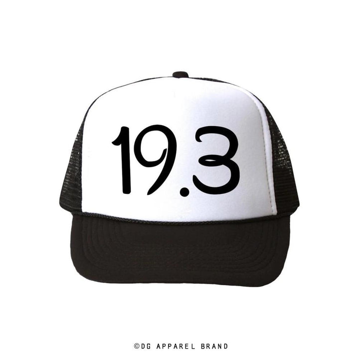Distance 19.3 Trucker Hat -  Trucker Hat | DG Apparel Brand