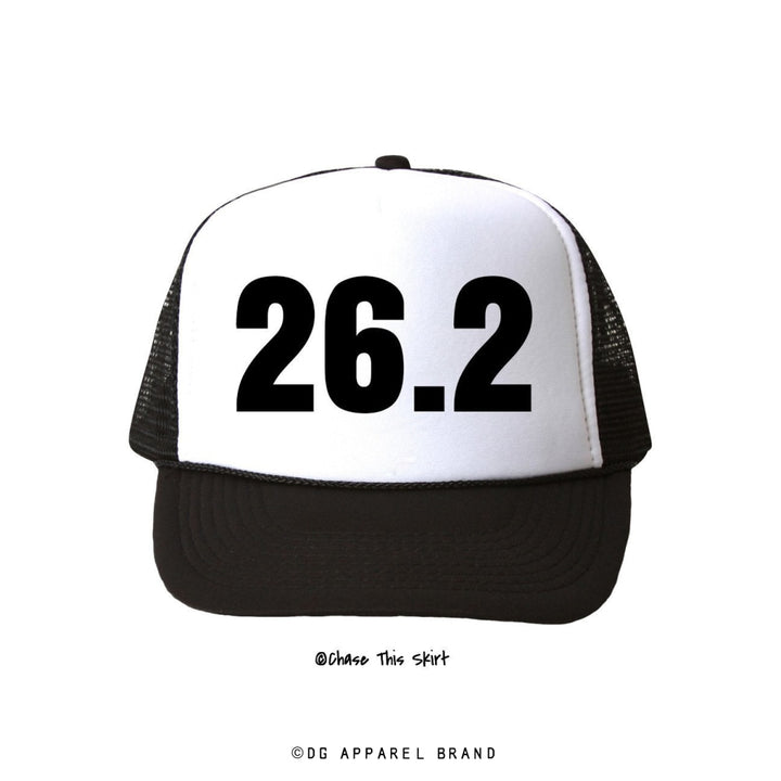 Distance 26.2 Trucker Hat -  Trucker Hat | DG Apparel Brand