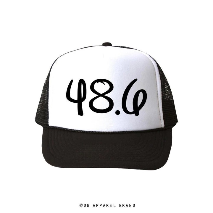 Distance 48.6 Trucker Hat -  Trucker Hat | DG Apparel Brand