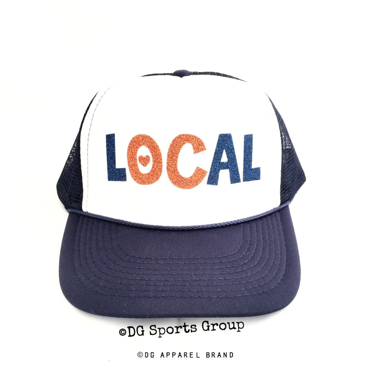 OC LOCAL Trucker Hat -  Trucker Hat | DG Apparel Brand
