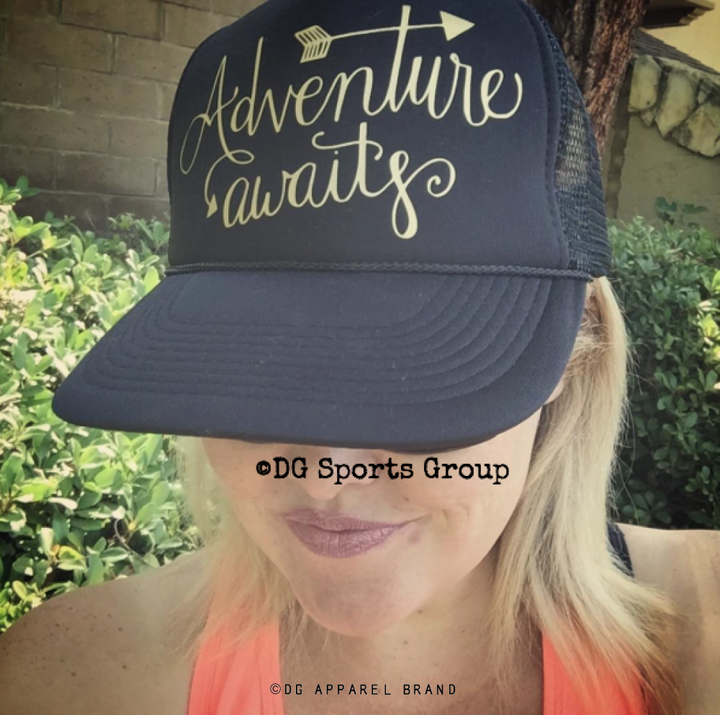 Adventure Awaits Trucker Hat -  Trucker Hat | DG Apparel Brand