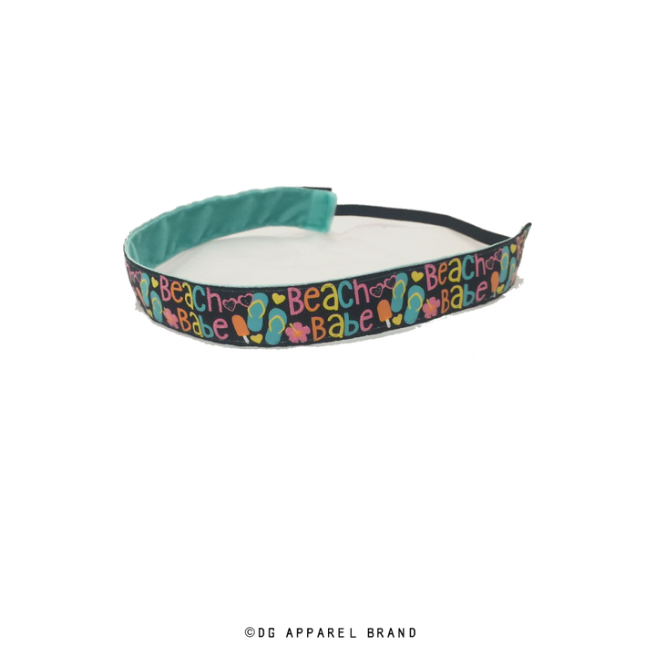 Beach Babe Headband -  Non-Slip Headband | DG Apparel Brand