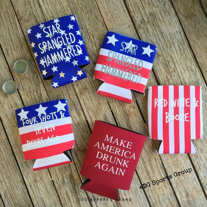 American Beer Sleeves -  Can Cooler | DG Apparel Brand