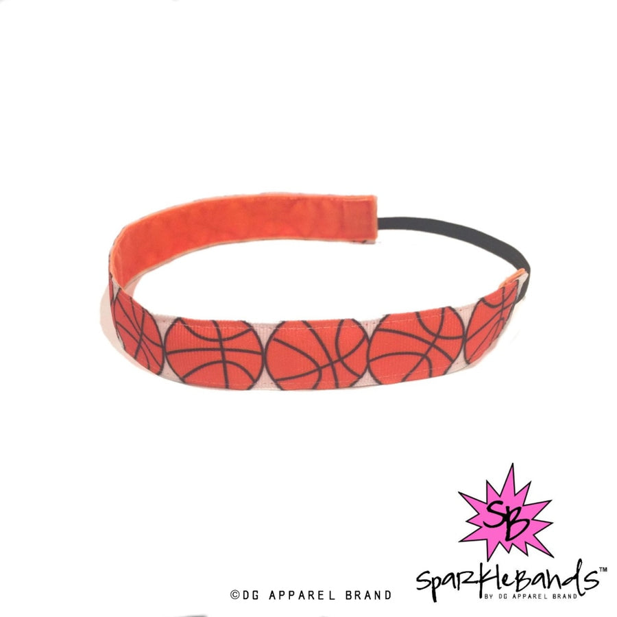 Big Basketballs Headband -  Non-Slip Headband | DG Apparel Brand