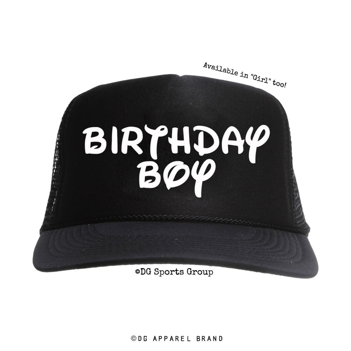 Birthday Boy Trucker Hat -  Trucker Hat | DG Apparel Brand