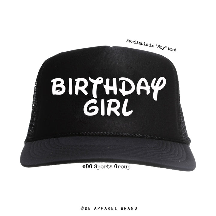 Birthday Girl Trucker Hat -  Trucker Hat | DG Apparel Brand