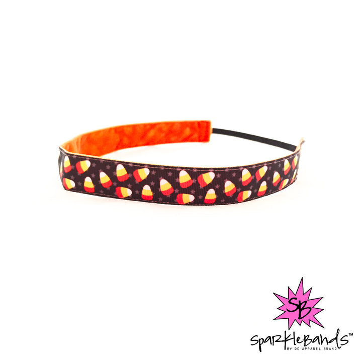 Candy Corn Headband -  Non-Slip Headband | DG Apparel Brand