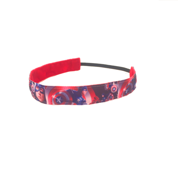 The Captain's Shield Headband -  Non-Slip Headband | DG Apparel Brand