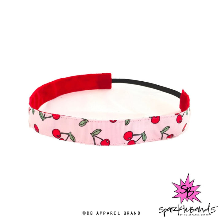 Cherry Headband -  Non-Slip Headband | DG Apparel Brand