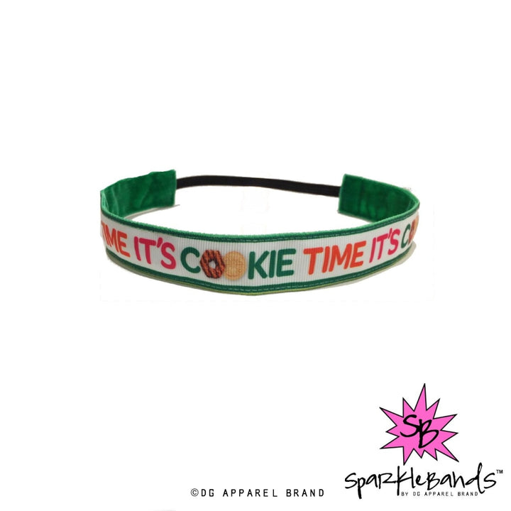 Cookie Time Headband Non-Slip