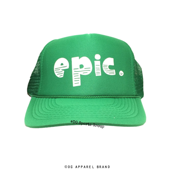 Epic Trucker Hat -  Trucker Hat | DG Apparel Brand