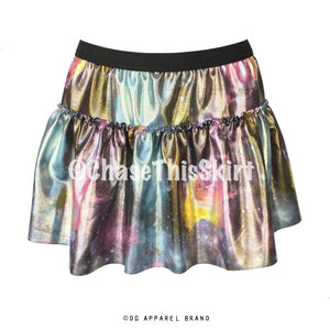 Run The Galaxy Sparkle Running Skirt -  Running Skirt | DG Apparel Brand