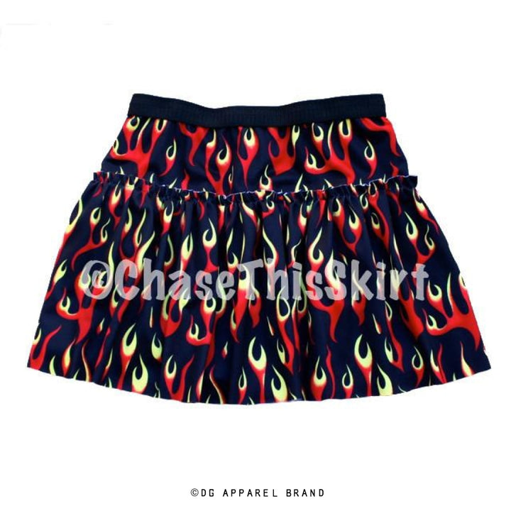 Girl on Fire Running Skirt -  Running Skirt | DG Apparel Brand