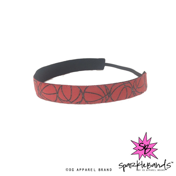 Glitter Basketball Headband -  Non-Slip Headband | DG Apparel Brand