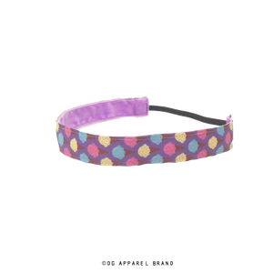 Ice Cream Cones Headband -  Non-Slip Headband | DG Apparel Brand