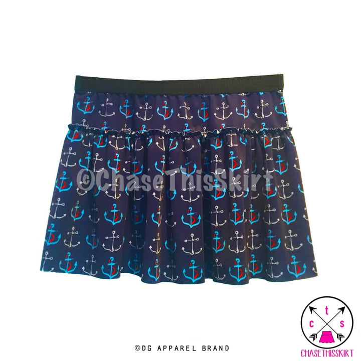 Anchor Running Skirt -  Running Skirt | DG Apparel Brand