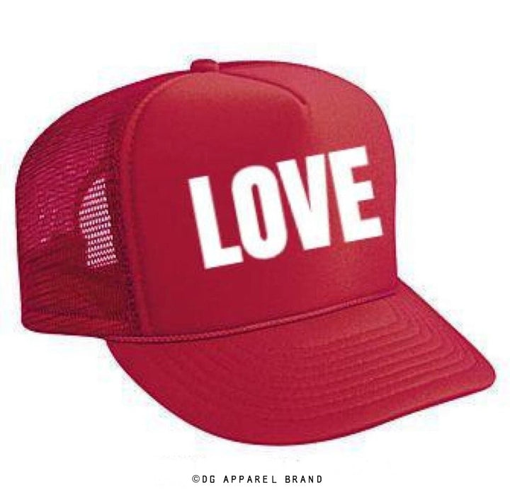 Red Love Trucker Hat