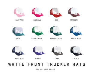 Wheres The Finish Trucker Hat