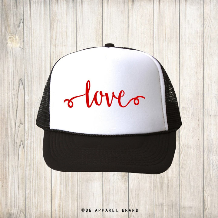 Love Trucker Hat -  Trucker Hat | DG Apparel Brand